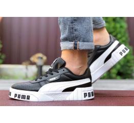 Мужские кроссовки Puma Cali Remix Mn's черные с белым