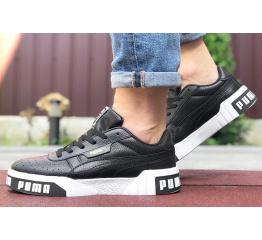 Купить Мужские кроссовки Puma Cali Remix Mn's черные с белым