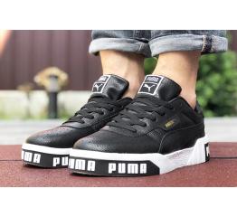 Купить Мужские кроссовки Puma Cali Remix Mn's черные с белым в Украине