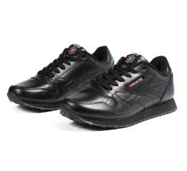 Купить Женские кроссовки Reebok Classic Leather черные