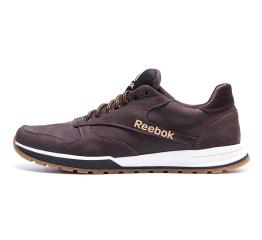 Купить Чоловічі кросівки Reebok темно-коричневі