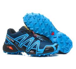 Купить Мужские кроссовки Salomon Speedcross 3 синие