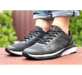 Купить Мужские кроссовки Under Armour черные с белым