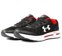 Купить Мужские кроссовки Under Armour HOVR черные с белым и красным