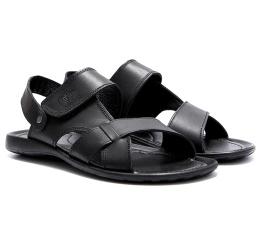 Купить Чоловічі сандалі Cardio чорні в Украине