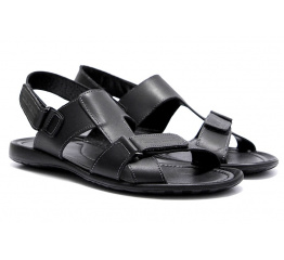 Купить Мужские сандалии Cardio черные в Украине