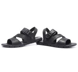 Купить Чоловічі сандалі Denim чорні в Украине
