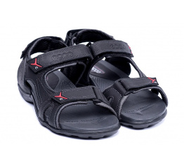 Купить Мужские сандалии Ecco черные в Украине