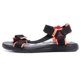 Купить Чоловічі сандалі Nike чорні з помаранчевим