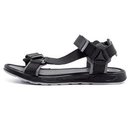Купить Мужские сандалии Nike черные с серым