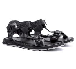 Купить Мужские сандалии Nike черные с серым в Украине