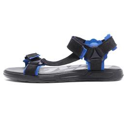 Купить Чоловічі сандалі Nike чорні з синім