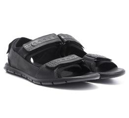 Купить Мужские сандалии Wolfstep черные в Украине