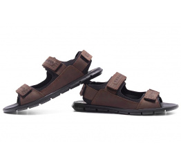 Купить Мужские сандалии Wolfstep коричневые в Украине