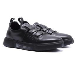 Купить Мужские туфли Ecco черные в Украине