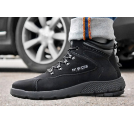Купить Мужские ботинки на меху DK Shoes черные в Украине