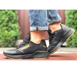 Купить Мужские кроссовки Puma Retaliate черные с оранжевым