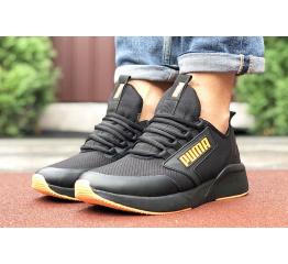 Купить Мужские кроссовки Puma Retaliate черные с оранжевым в Украине