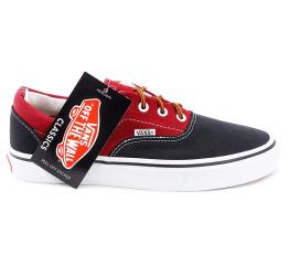 Купить Женские кеды Vans Era Two Tone красные с черным