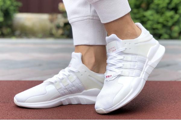 Женские кроссовки Adidas EQT Support Adv 91/17 белые