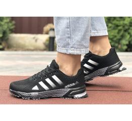 Купить Женские кроссовки Adidas Marathon TR 26 черные с белым