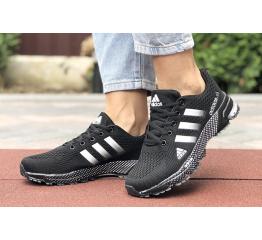 Купить Жіночі кросівки Adidas Marathon TR 26 чорні з білим в Украине