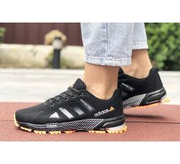 Купить Женские кроссовки Adidas Marathon TR 26 черные с оранжевым