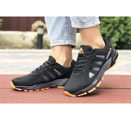 Купить Жіночі кросівки Adidas Marathon TR 26 чорні з помаранчевим в Украине