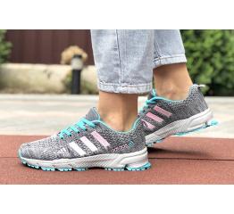 Купить Жіночі кросівки Adidas Marathon TR 26 сірі с бирбзовым и розовым