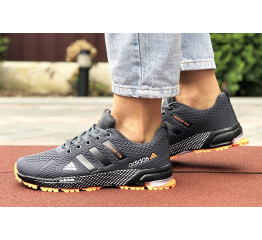Купить Жіночі кросівки Adidas Marathon TR 26 сірі з помаранчевим