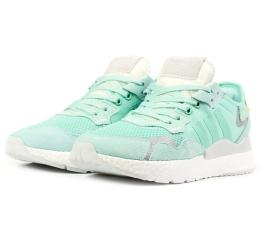Купить Женские кроссовки Adidas Nite Jogger BOOST бирюзовые