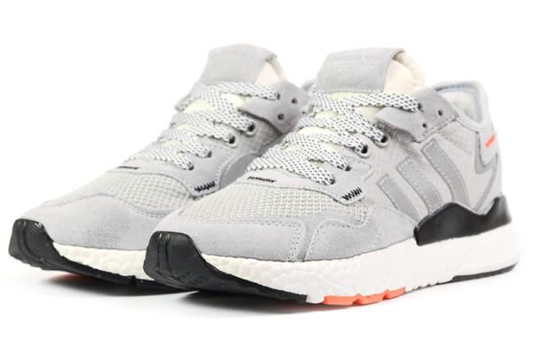 Женские кроссовки Adidas Nite Jogger BOOST серые