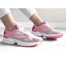 Купить Жіночі кросівки Adidas Originals Falcon рожеві в Украине
