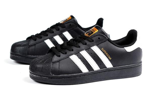 Женские кроссовки Adidas Originals Superstar черные