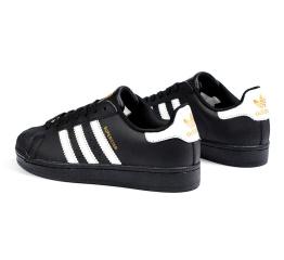 Купить Женские кроссовки Adidas Originals Superstar черные в Украине