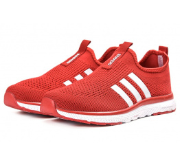 Купить Женские кроссовки Adidas Slip-on красные