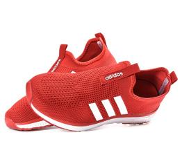 Купить Женские кроссовки Adidas Slip-on красные в Украине