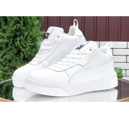 Купить Жіночі кросівки зимові Puma Cali Sport Wn's Fur білі