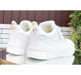 Женские кроссовки на меху Puma Cali Sport Wn's Fur белые