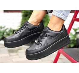 Купить Женские кроссовки Nike Air Force 1 Sage Low черные