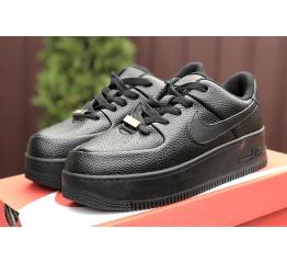 Купить Женские кроссовки Nike Air Force 1 Sage Low черные в Украине