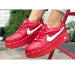 Купить Женские кроссовки Nike Air Force 1 Sage Low красные