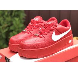 Купить Женские кроссовки Nike Air Force 1 Sage Low красные в Украине