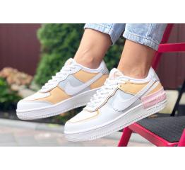 Купить Женские кроссовки Nike Air Force 1 Shadow белые