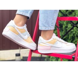 Купить Женские кроссовки Nike Air Force 1 Shadow белые в Украине