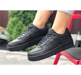 Купить Женские кроссовки Nike Air Force 1 Shadow черные