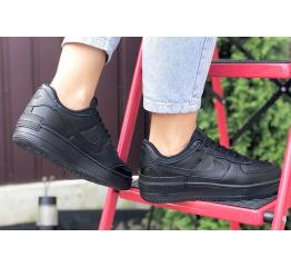 Купить Жіночі кросівки Nike Air Force 1 Shadow чорні в Украине