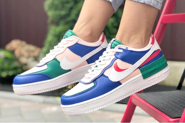 Женские кроссовки Nike Air Force 1 Shadow многоцветные