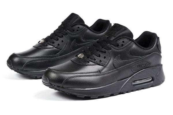 Женские кроссовки Nike Air Max 90 черные