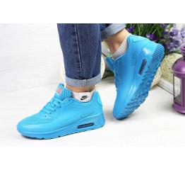 Купить Женские кроссовки Nike Air Max 90 Hyperfuse голубые